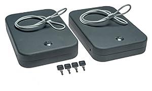 SnapSafe XL Lockbox Two Pack Keyed Alike