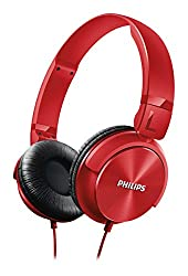 Philips SHL3060RD/00 On-Ear DJ Style Monitoring Headphone  (Red)