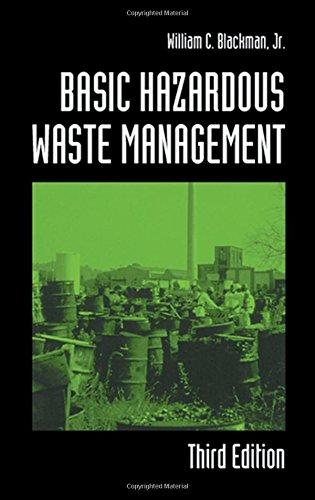 Basic Hazardous Waste Management, Third Edition