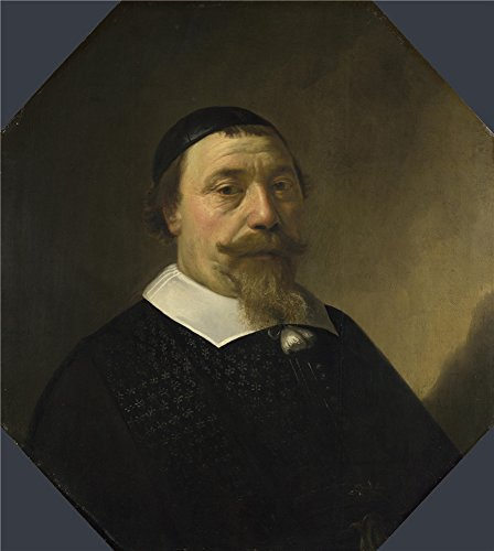 Oil Painting 'Aelbert Cuyp - Portrait Of A Bearded Man,1649', 10 x 11 inch / 25 x 28 cm , on High Definition HD canvas prints is for Gifts And Bed Room, Dining Room And Nursery Decoration (Deer Rear Bottle Opener compare prices)
