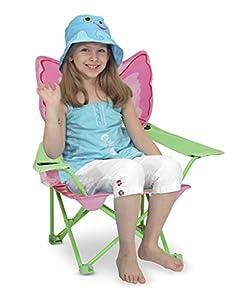 Melissa & Doug Sunny Patch Bella Butterfly Chair Outdoor/Garden/Yard Maintenance (Patio & Lawn upkeep) by Melissa & Doug