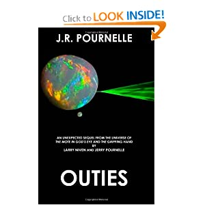 Outies (Mote Series, Book 3) by J. R. Pournelle