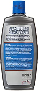 Blue Magic 750-06PK Plastic and Plexiglas Cleaner - 8 oz., (Pack of 6) from Blue Magic