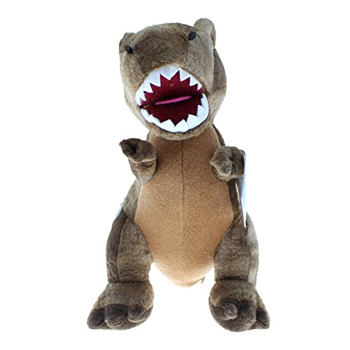 Jurassic-World--Dinosaure-en-peluche-Marron-Env-26-cm