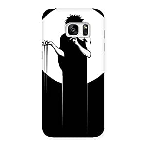 SherBat Back Case Cover for Galaxy S7 Edge