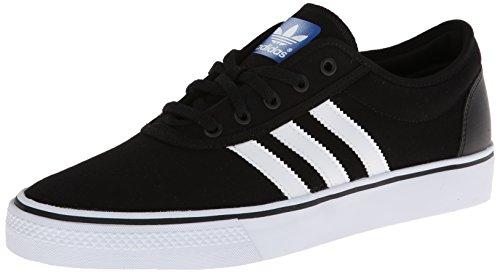 adidas Adi-Ease Skate Shoe - Men's Black/White/Black, 10.0