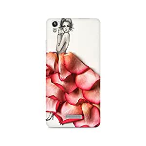 MOBICTURE Girl Abstract Premium Designer Mobile Back Case Cover For Lava Pixel V1