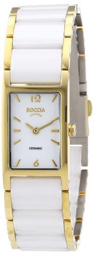 Boccia Women's Quartz Watch Ceramic 3201-03