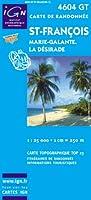 Carte de randonnée : St-Francois Grande-Terre