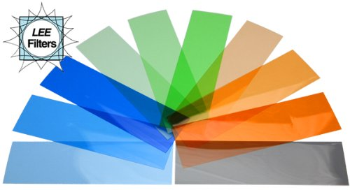 Camera flash gels colour correction Kit: 50 Lee