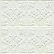 Shanker Industries W309 2 Tru-METAL Nonsuspended Ceiling Tile & Backsplash Tile Pack of 5