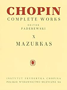 Mazurkas: Chopin Complete Works Vol. X from Pwm