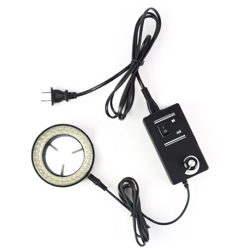 Adjustable 60-Led Ring Light Illuminator Lamp For Stereo Zoom Microscope Us Plug