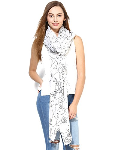 Veromoda Women Casual Long Scarves  available at amazon for Rs.747