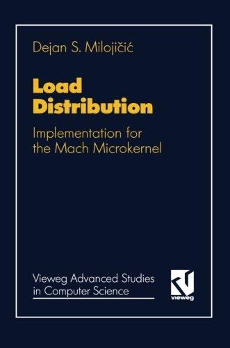 Load Distribution: Implementation for the Mach Microkernel (Vieweg Advanced Studies in Computer Science)  [Milojičić, Dejan] (Tapa Blanda)