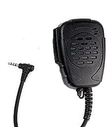 IFeng® Handheld Mini Speaker Microphone Mic 3.5mm 1Pin for Walkie Talkie YAESU VERTEX VX-110 VX-130 VX-131 VX-132 FT-40R FT-50R FT-60R