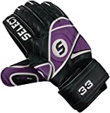 Select Sport America 33 Goalkeeper Glove, Black/Purple, Size 7