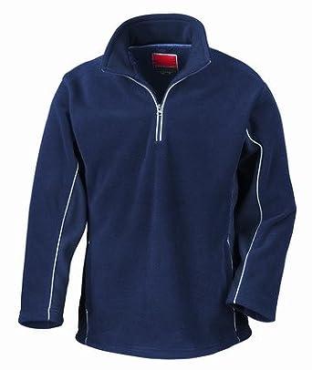 Result Tech 3 Zip Neck Sport Fleece Navy/Navy XS