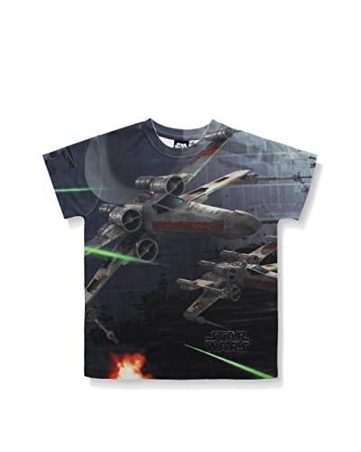 Star Wars T-Shirt Manica Corta X-Wing Fighter