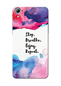 Sowing Happiness Printed Back Cover for HTC Desire 826