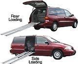 Adjustable Wheelchair Telescoping Aluminum Ramps