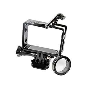 保護バックルハウジング型 サイドボーダー フレームケース GoPro Hero 4/3+/3 スポーツカメラアクセサリー用  [並行輸入品]