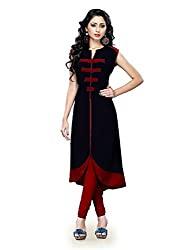Kurti For Girls ( KM_52_Black )
