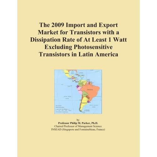 The 2011 Import and Export Market for Transistors with a Dissipation Rate of At Least 1 Watt Excluding Photosensitive Transistors in Asia Icon Group International