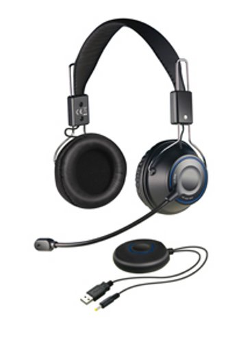 Creative HS-1200 X-Fi Digital Wireless Gaming Headset schwarz [Neue Version]