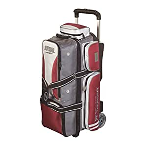 Amazon.com : Storm 3 Ball Rolling Thunder Bowling Bag- Grey/Red/White