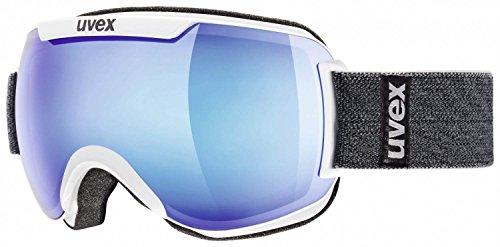 Uvex Downhill 2000-Maschera da sci, Bianco, Taglia unica adulto