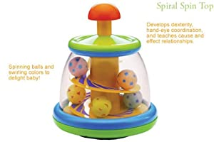 Infantino Spiral Spin Top (Discontinued by Manufacturer)