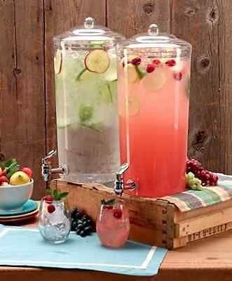 Beverage Dispenser Drink Pitcher Gallon Stand Juice Tea Cold Ice Party Serve NEW (Fountain Drink Cup Dispenser compare prices)