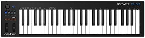 Nektar-Impacto-gx49-con-teclado-controlador-USB-MIDI-DAW-Integracin