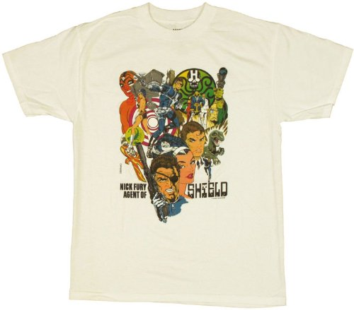 MARVEL COMICS - NICK FURY AGENT OF THE S.H.I.E.L.D. - MENS S/S TEE