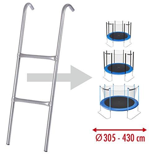 Ultrasport Leiter für Trampolin - passend für viele gängigen Größen (305, 366 und 430 cm) -