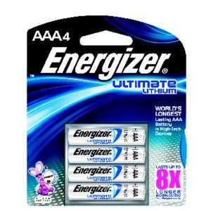 12 Energizer Ultimate Lithium AA Batteries