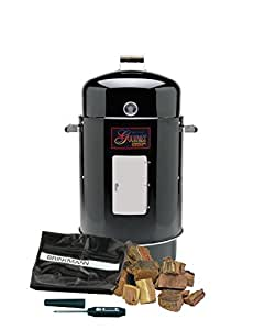 Brinkmann 852-7080-C Gourmet Charcoal Smoker Value Pack (Discontinued by Manufacturer)