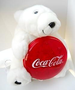Coca Cola Polar Bear Christmas Tree Topper