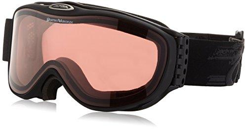 ALPINA Erwachsene Skibrille Challenge 2.0 QV, Black Matt, One Size, 7089731