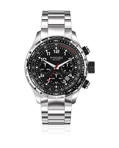 Timecode Orologio al Quarzo Sputnik 1957 Argentato 49 mm
