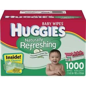 Amazon Com Huggies Baby Wipes Naturally Refreshing W