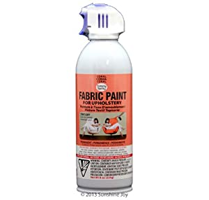 simply spray upholstery fabric spray paint 8 oz can coral peach. Black Bedroom Furniture Sets. Home Design Ideas