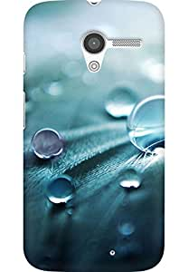 AMEZ designer printed 3d premium high quality back case cover for Moto X (i-love-water-droplet-photography-it-is-so-beautiful-iphone-s-iphone-5s-waterdrop-dewdrops-dew-drops-hd-s-water-droplets-photography)