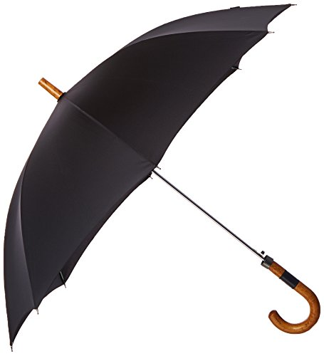 leighton-mens-auto-open-wood-stick-black-one-size