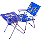 Baby & Kids Table Chair Set Toy Set Blue By Cadeaus