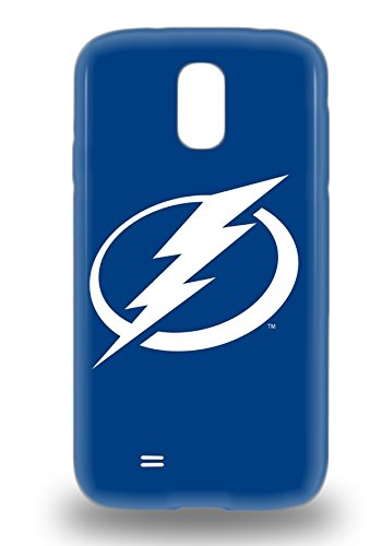 Tpu Protector Snap NHL Tampa Bay Lightning Logo Case Cover For Galaxy S4
