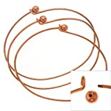Copper Plate Wire Beading Bracelet With Ball Add A Bead (3)