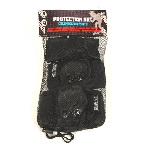 6 Piece Protection Kit For Skaters, Skateboarders & Scooters (Medium Size)