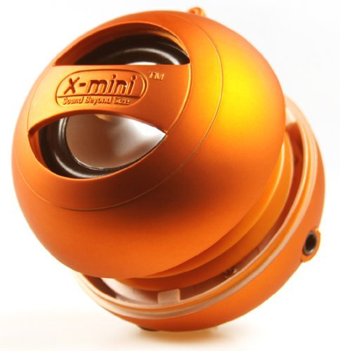 XAM4-O II Portable Speaker for iPod / mp3 Players &amp; Laptops-Speakers-Retail Packaging-Orange